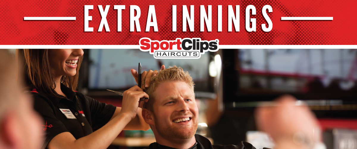 The Sport Clips Haircuts of Dunkirk  Extra Innings Offerings